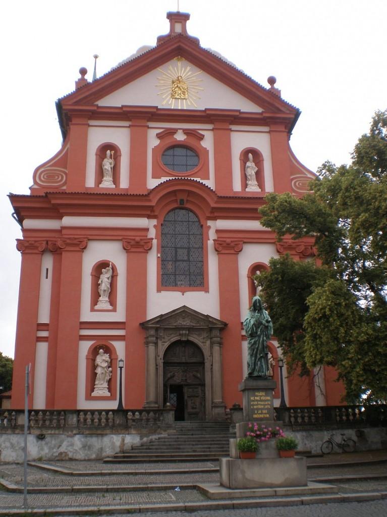 Stará Boleslav - poutní kostel Nanebevzetí Panny Marie