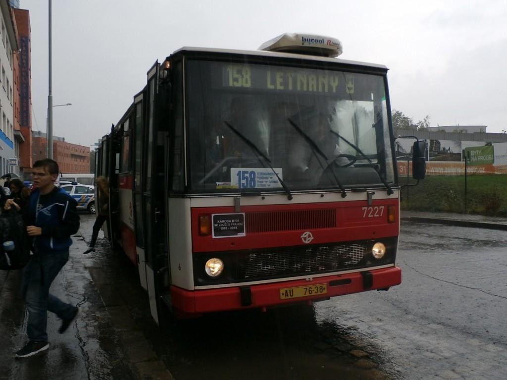 B 731 na Českomoravské