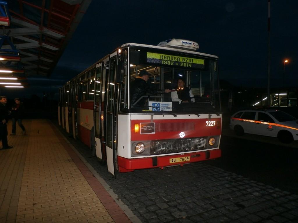 B 731 na Letňanech