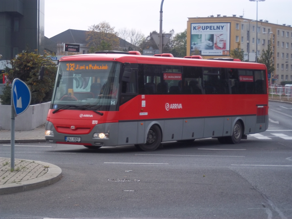 5047 - linka 332 Budějovická Arriva Praha SOR CN 12 9263