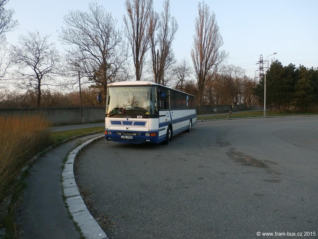 linka 369 Sídliště Ďáblice ČSAD SČ Karosa C954 8058