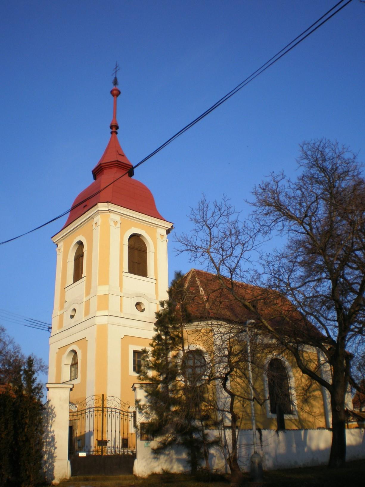 084 - Zdiby - kostel Povýšení svKříže