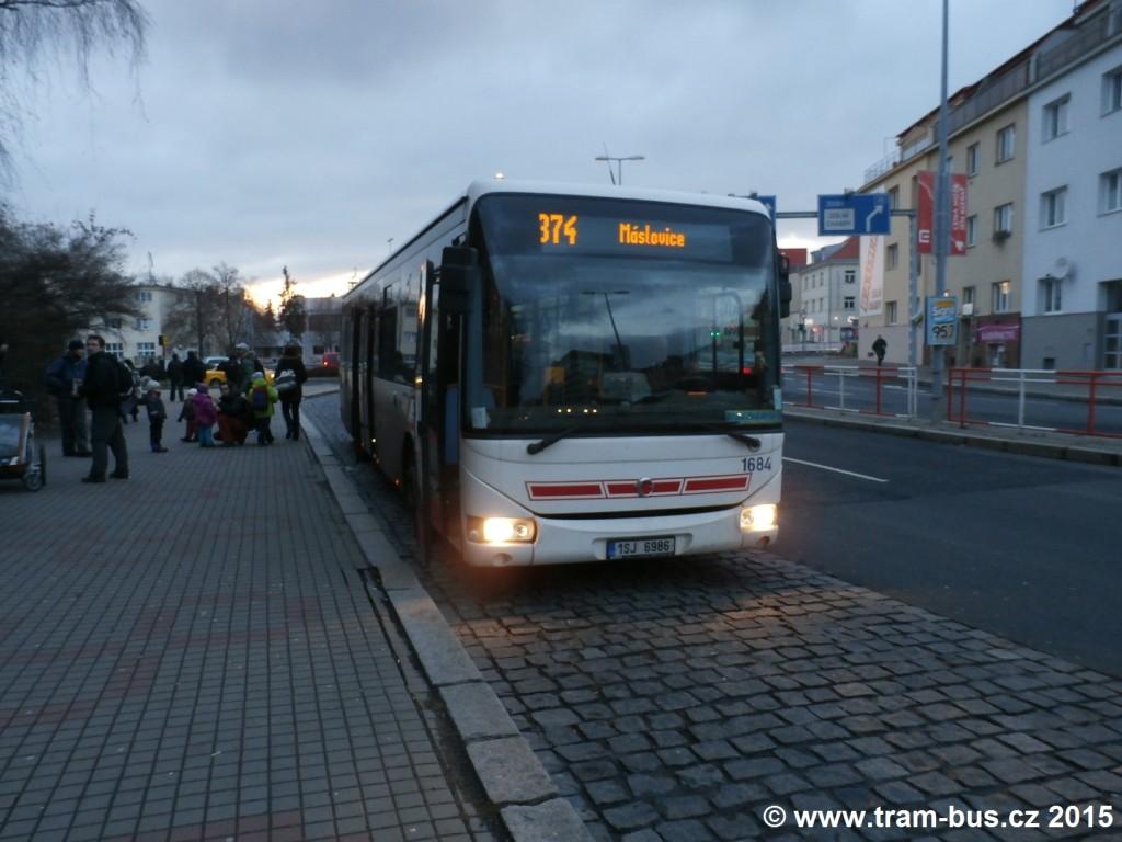 3197 - linka 374 Kobylisy ČSAD SČ Iveco Crossway LE 12M 1684 (8148)