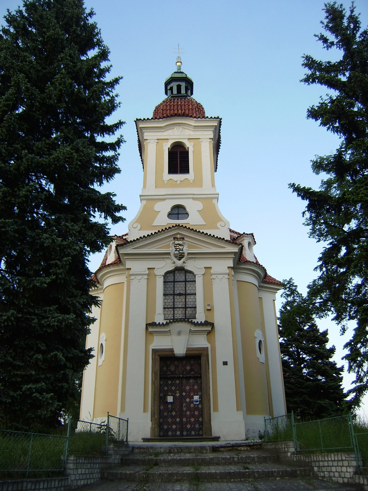 481 - Hořelice - kostel svJana Křtitele