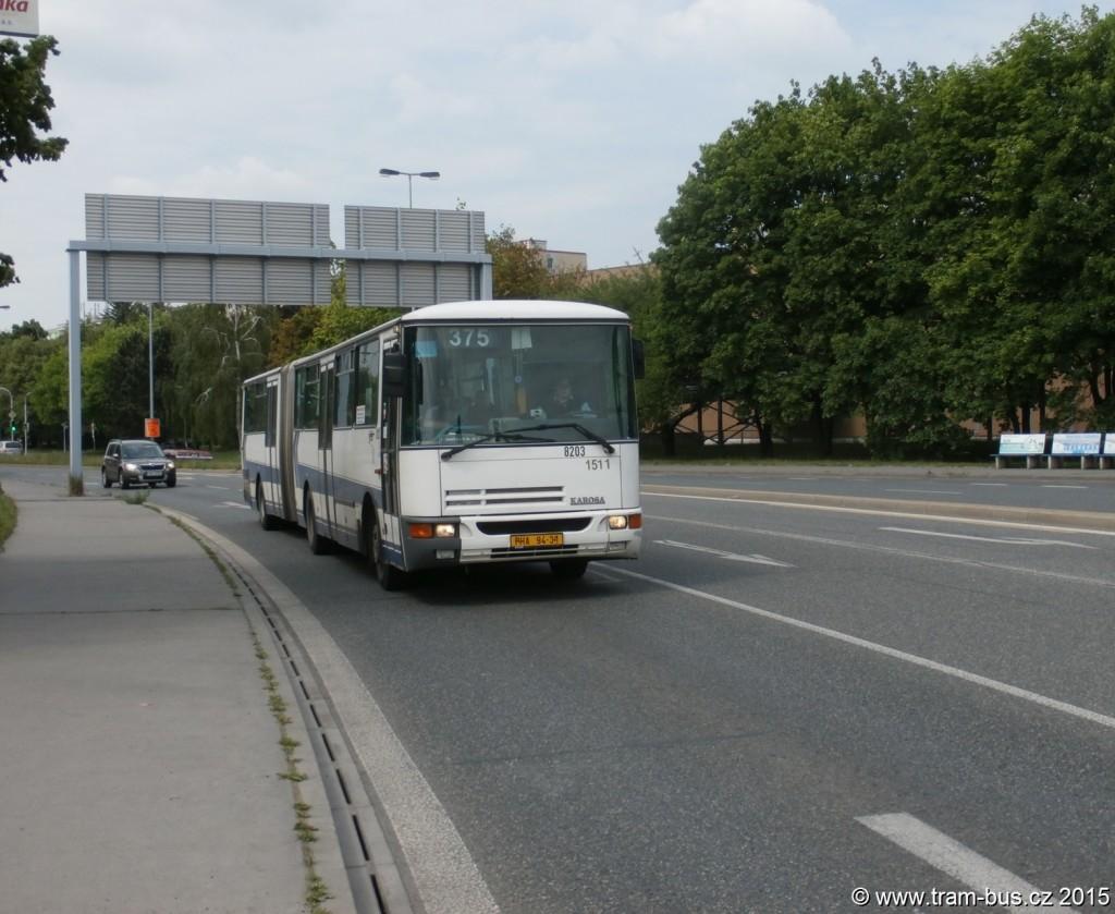 3841 - linka 375 Letňanská ČSAD SČ Karosa C 943 8203