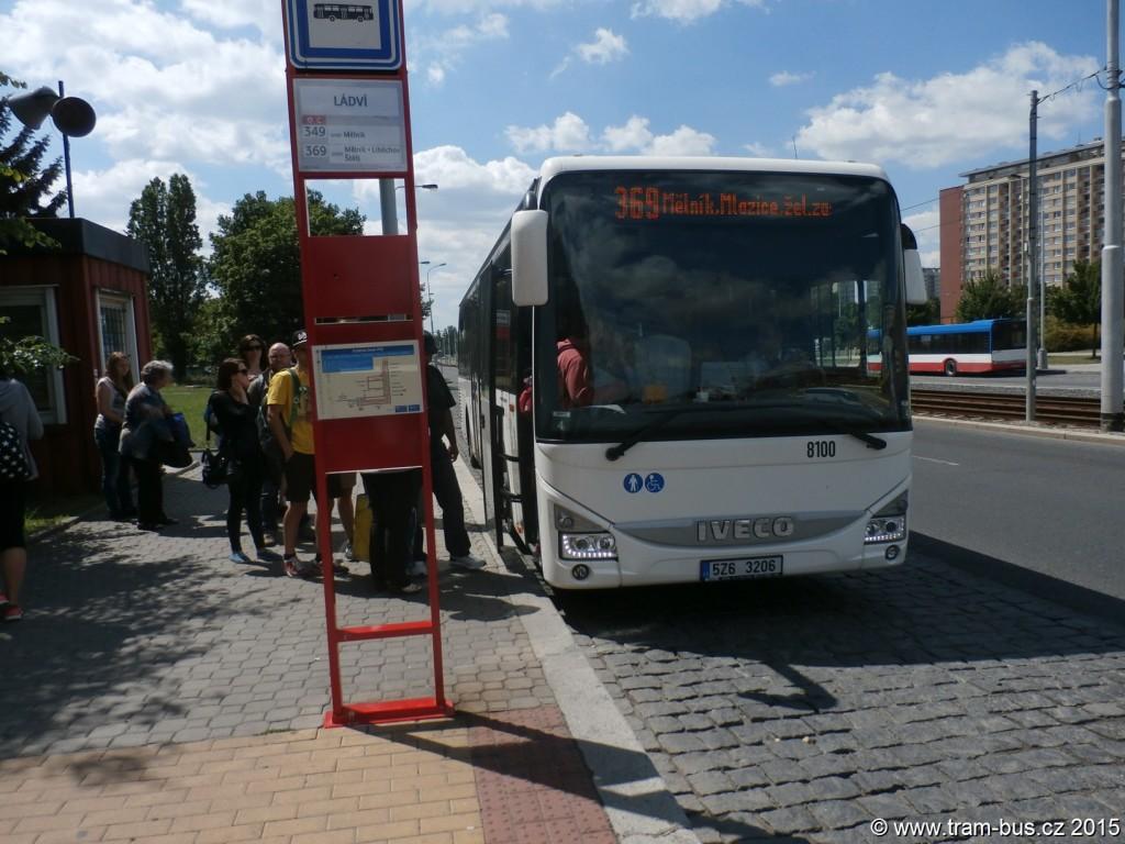 4002 - linka 369 Ládví ČSAD SČ Iveco Crossway LE LINE 12M 8100