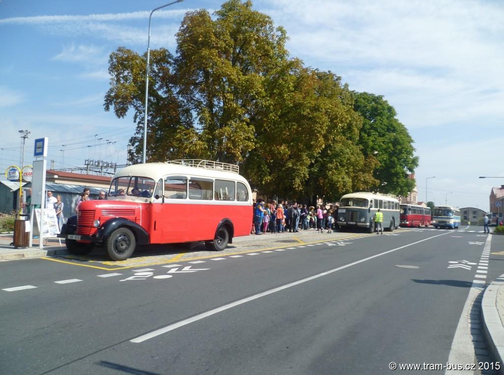 079 - 5. RDP Český Brod,,žel.st. Praha RND, Škoda 706 RO, Ikarus 280, Karosa ŠL 11