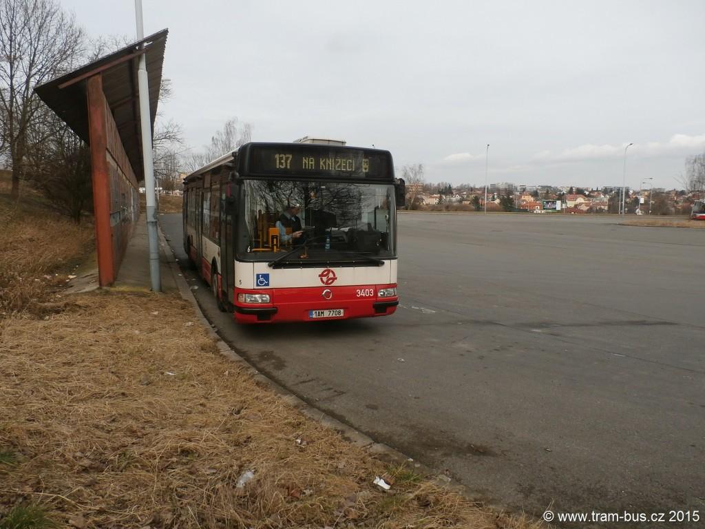 3372 - linka 137 Sídliště Stodůlky DPP Irisbus Citelis 12M 3403