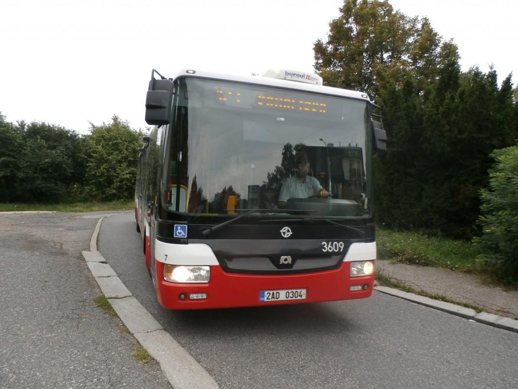 2481 - linka 123 Šmukýřka DPP SOR NB 12 3609