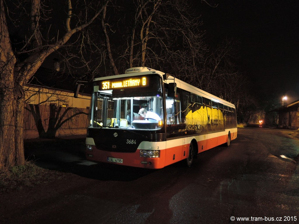 5105 - linka 351 Neratovice,,žel.st. DPP SOR NB 12 3684