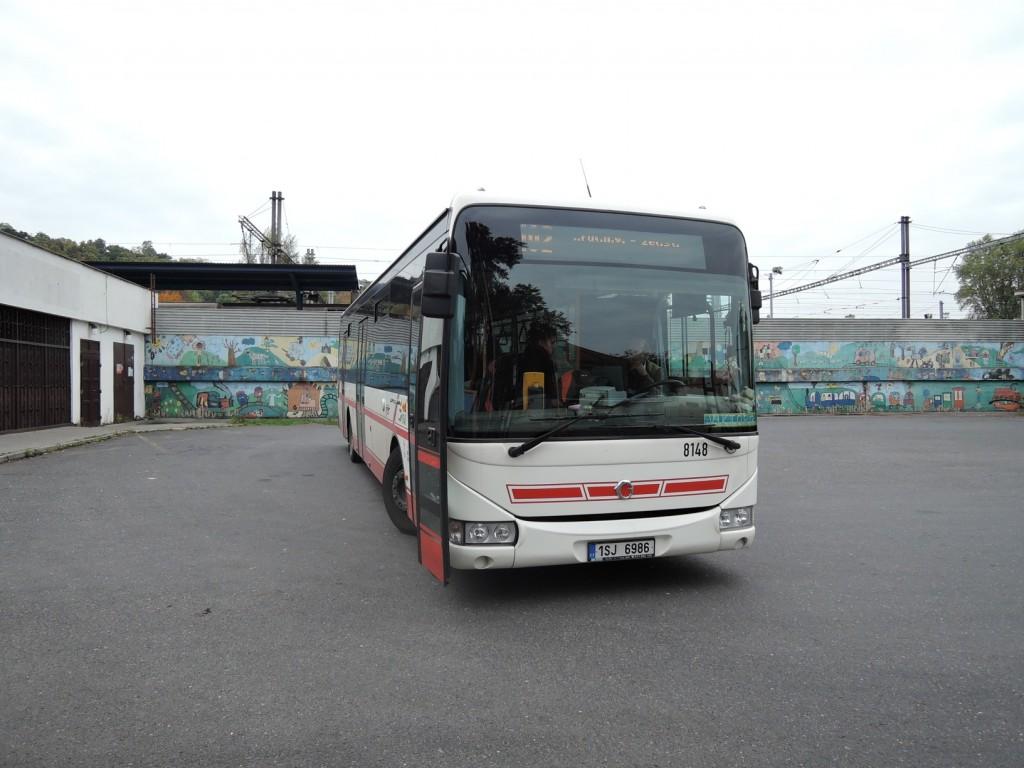 105 - linka 255102 Kralupy nad Vltavou,,žel.st. ČSAD SČ Irisbus Crossway 12M 8148