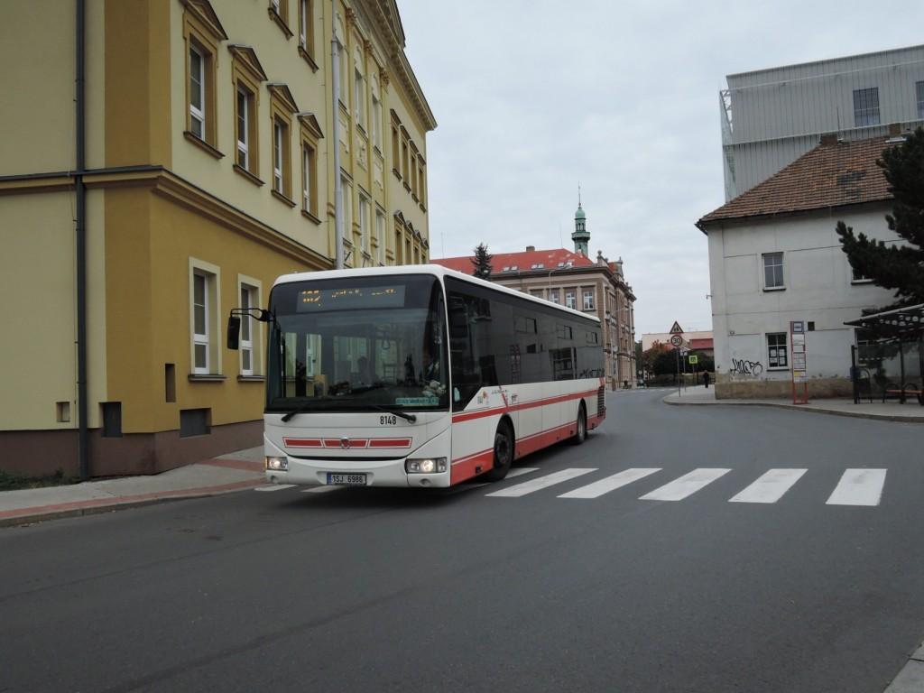 106 - linka 255102 Kralupy nad Vltavou,,Městský úřad ČSAD SČ Irisbus Crossway 12M 8148