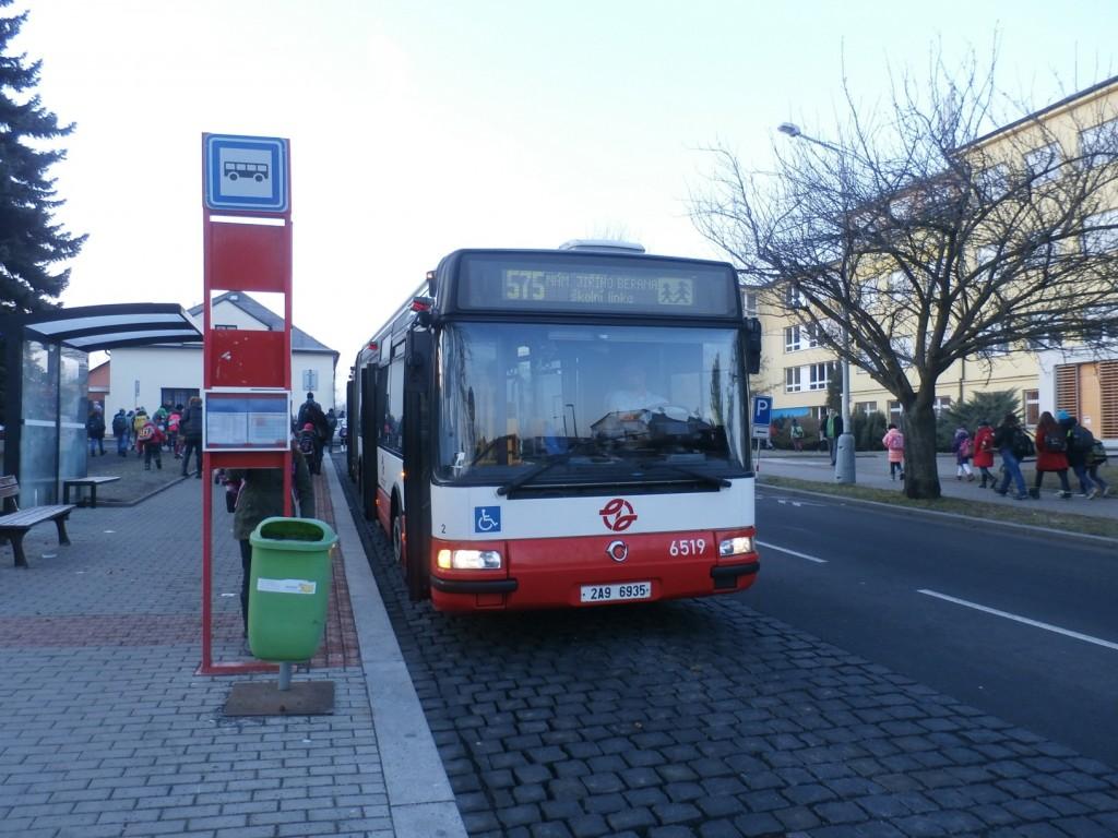 3431 - linka 575 Náměstí Jiřího Berana DPP Irisbus Citybus 18M 6519