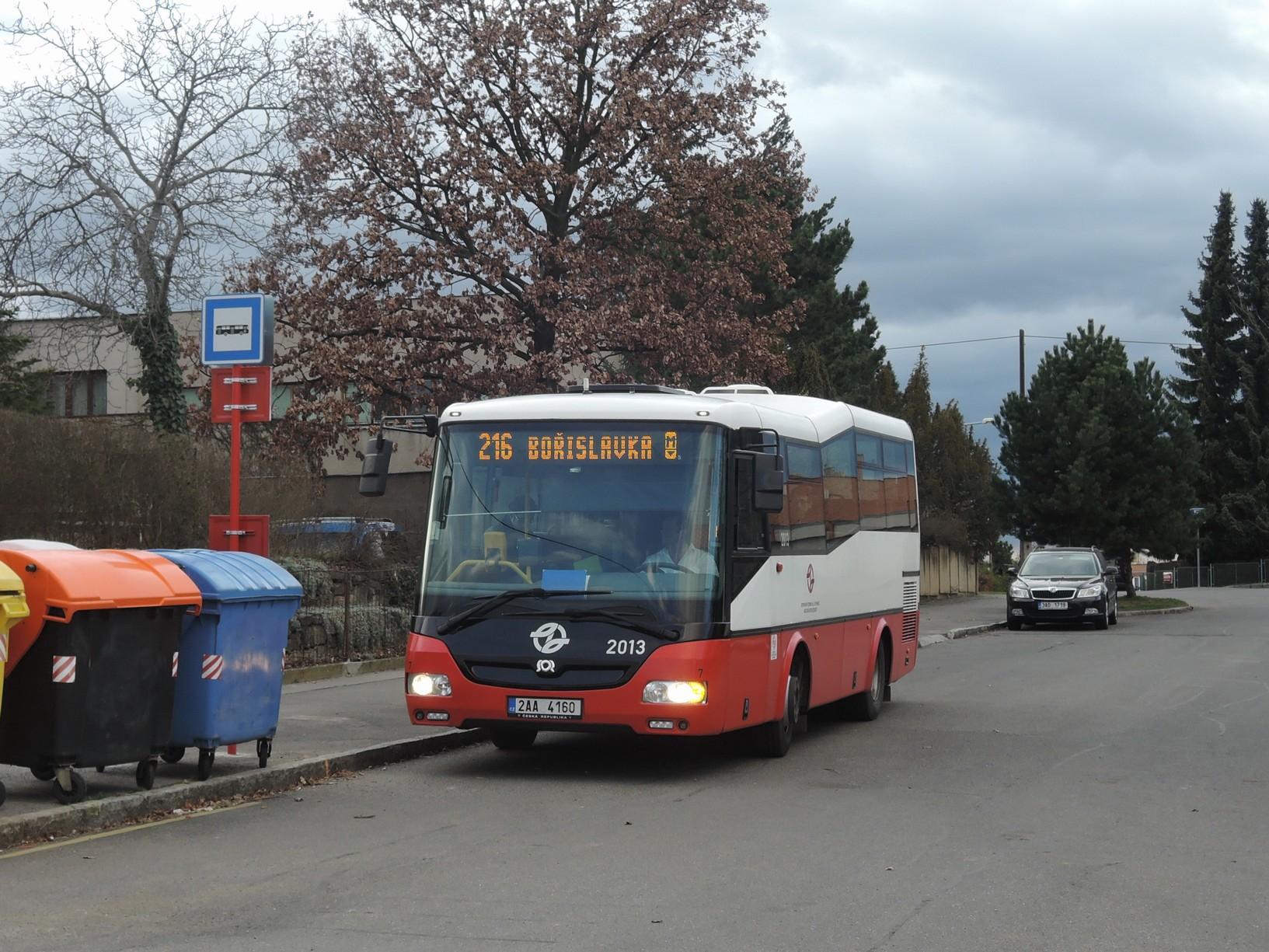 Požadavky MČ (autobusy) – březen 2018