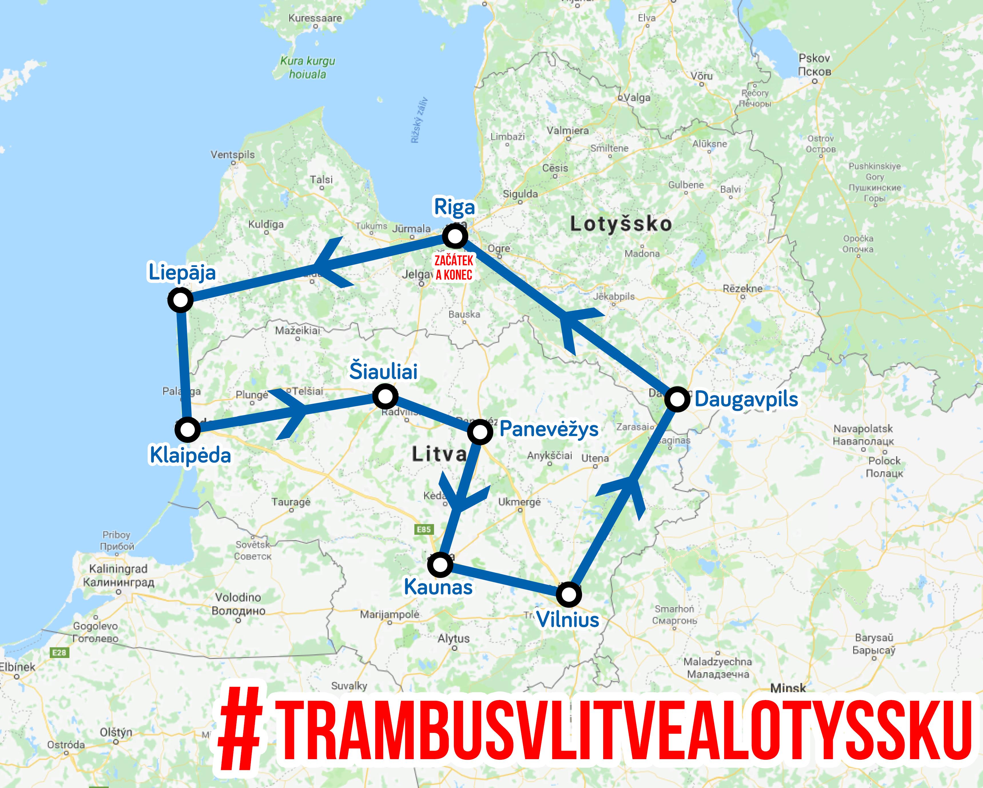 Procestujte s námi Litvu a Lotyšsko - vyrážíme už 12. 8.!