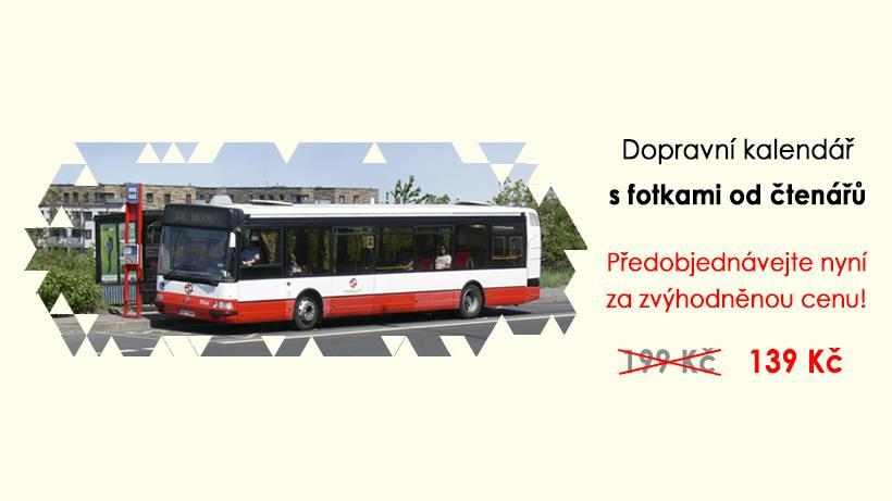 Dopravní kalendář 2020 v předprodeji za zvýhodněnou cenu!
