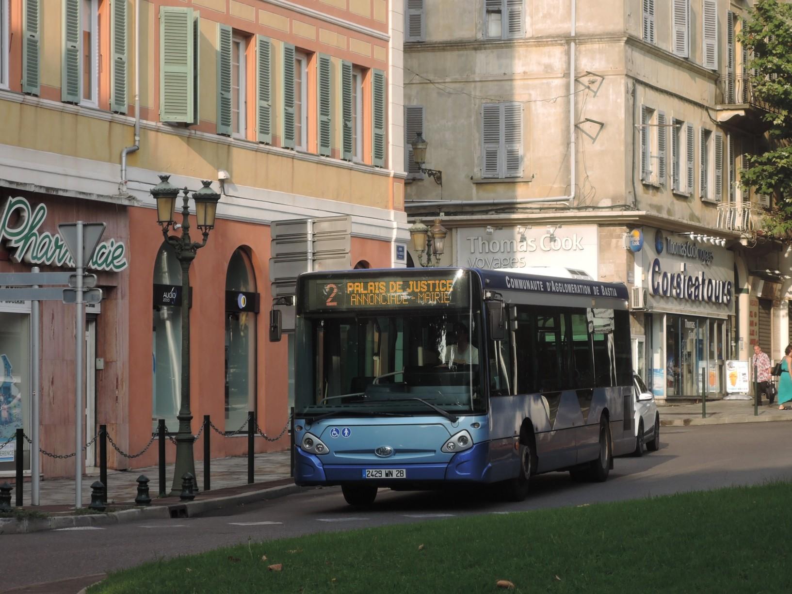Článek o korsickém městě Bastia