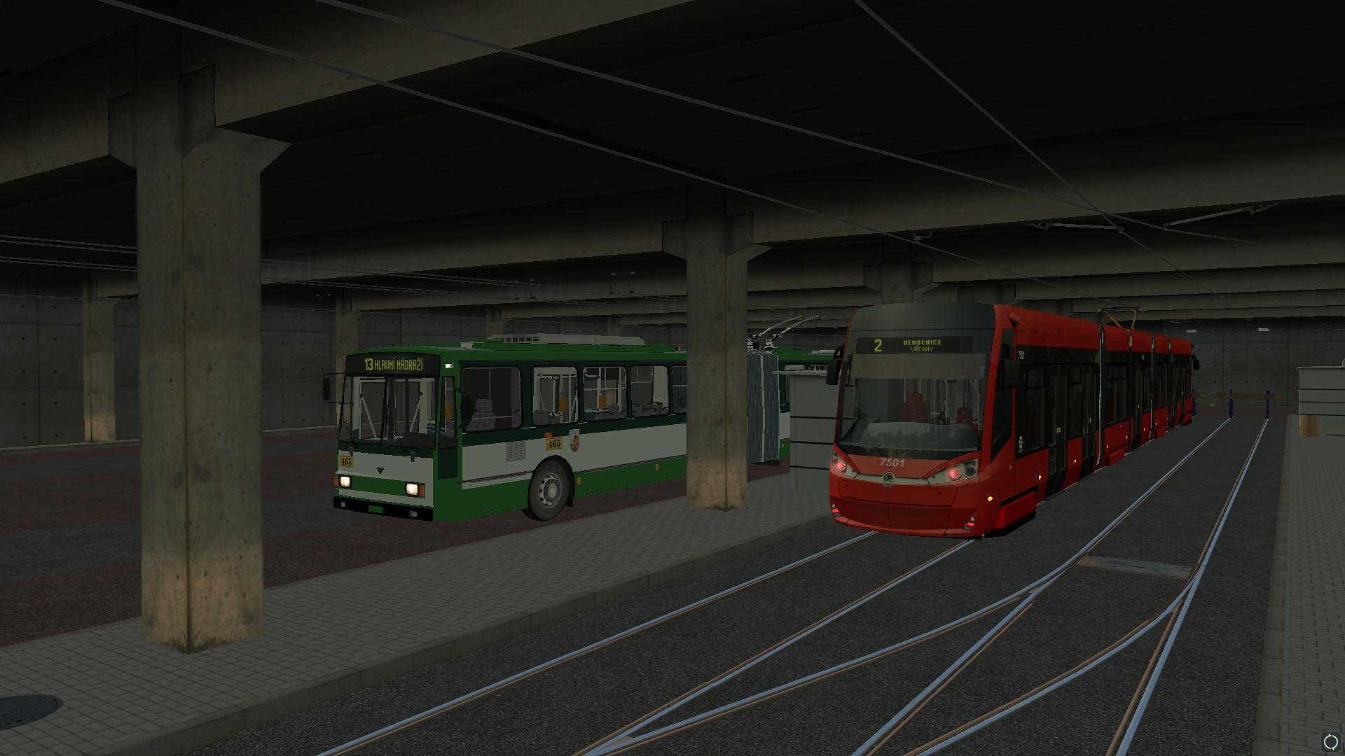 Aktualizace simulátoru veřejné dopravy SIMT