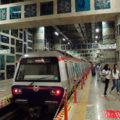 Metro M2 v konečné stanici Yenikapi.