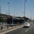 Metrobus linky 34A směr Cevizlibağ.