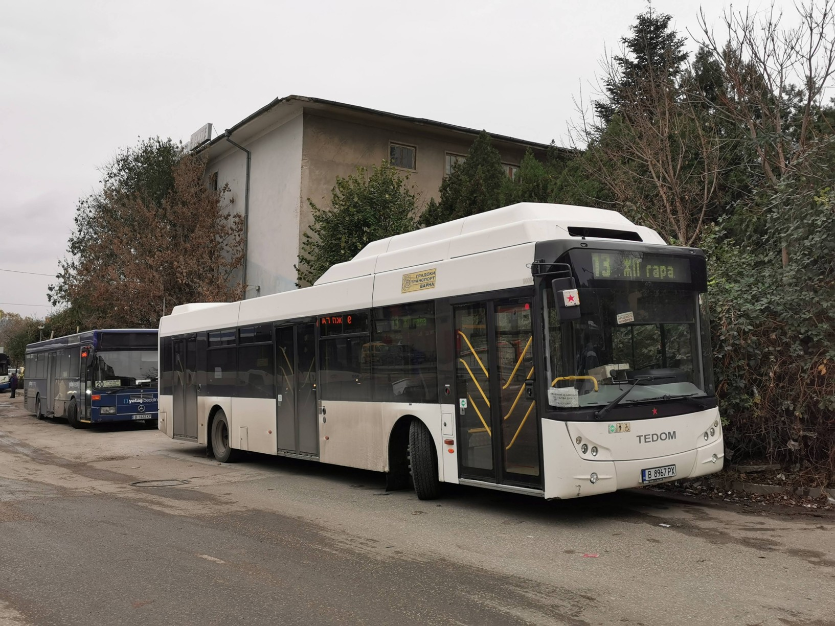 Varna - za autobusy a trolejbusy k pobřeží Černého moře