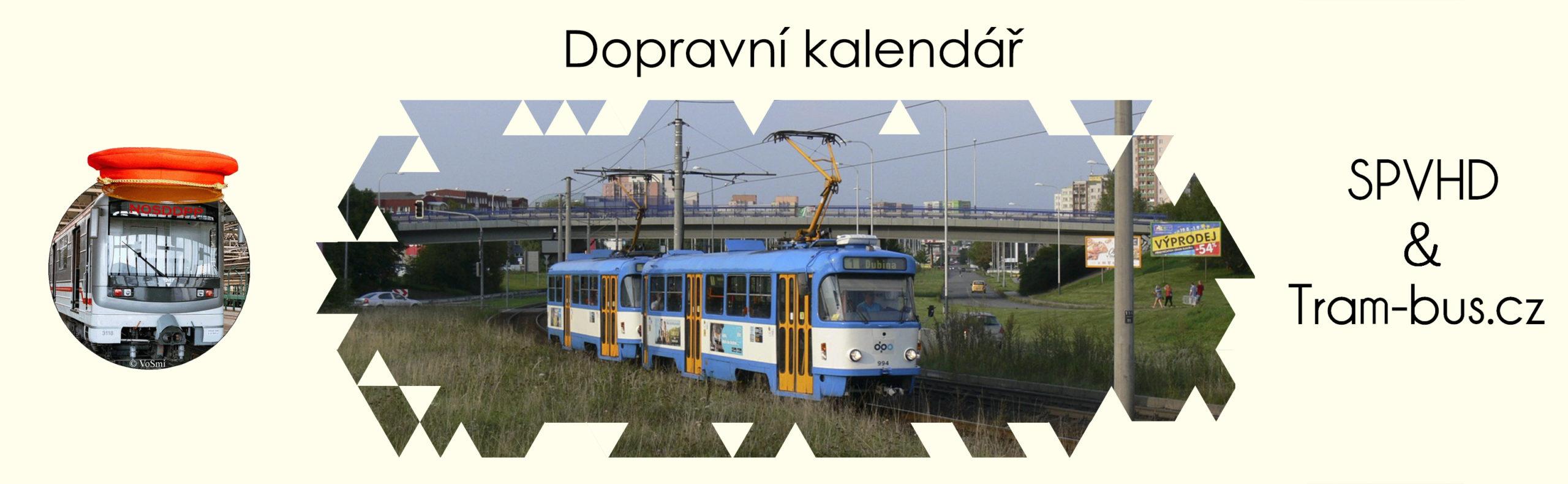 Dopravní kalendář 2021 - předobjednávky