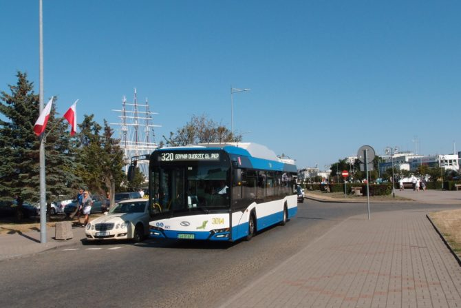 Parciální trolejbusy linky 320 se pohybují po centru města Gdynie, kde linka začíná u hlavního nádraží, obslouží městskou pláž a následně zajede až na konec promenády, odkud se vrátí ke hlavnímu nádraží